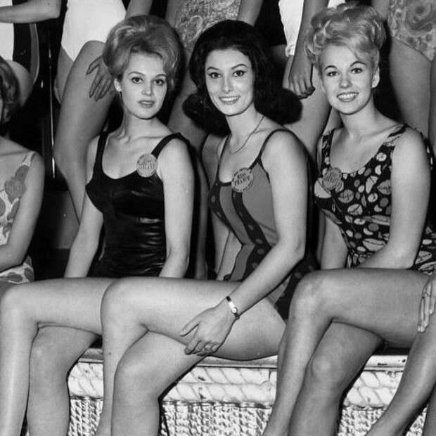 Мисс Финляндия, Мисс Франция и Мисс Германия, 1963