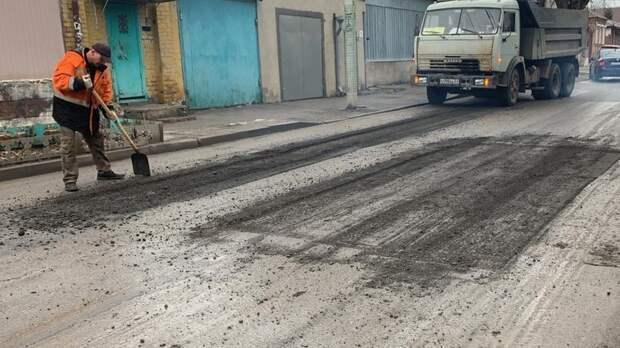 ВРостове замесяц привели впорядок свыше 5тыс квадратных метров дорог