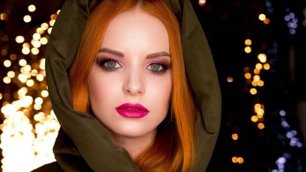 Вечернему макияжу блеск придаст особый шарм