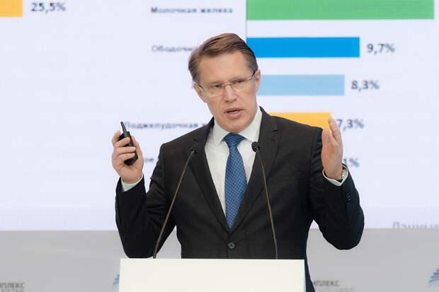 Мурашко заявил о важности вакцинации всех россиян от коронавируса