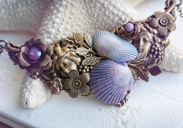 Фото 35 Море хендмейда: что можно сделать из ракушек? 95+ потрясающих идей для дома
