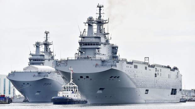 «Забыть позор «Мистралей»: во Франции подняли вопрос возобновления военно-технического сотрудничества с Россией
