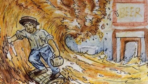 Много пива бывает: пивное цунами в Лондоне, унесшее жизни восьми человек