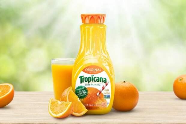Tropicana (стоимость бренда: 2,6 миллиарда долларов)