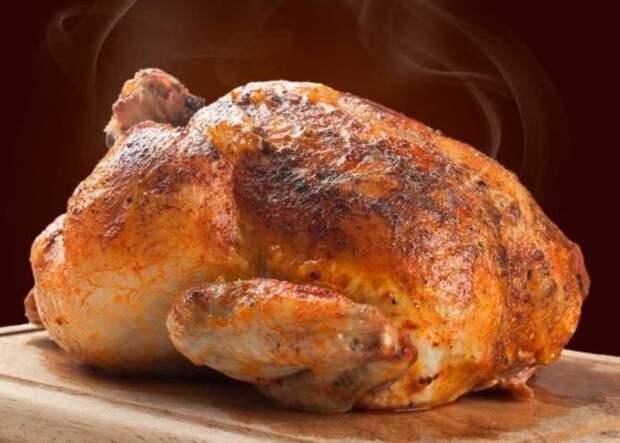 Готовим на мангале курицу в сметане целиком. Получается вкусно, как шашлык