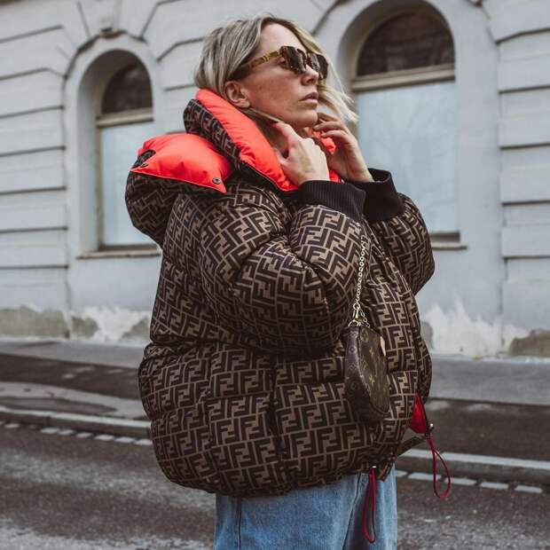 20 способов носить пуховик оверсайз для активных и современных женщин