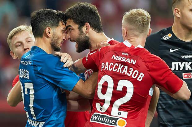 Петраков не хочет, чтобы «Спартак» и «Зенит» играли друг с другом по восемь матчей