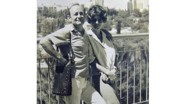 Курилов с женой Леной