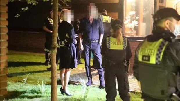 Всему виной пандемия: в Гамбурге полиция разогнала вечеринку свингеров
