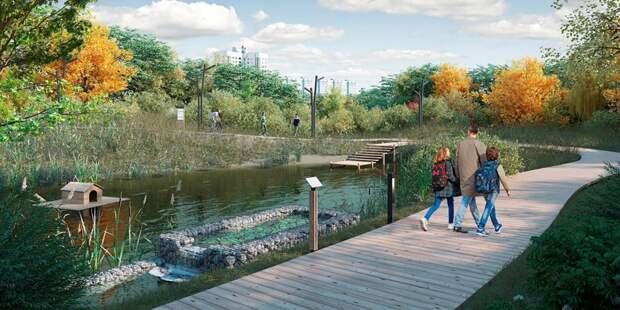 Проект «Суперпарк Яуза» превратит территорию вдоль реки в зону отдыха