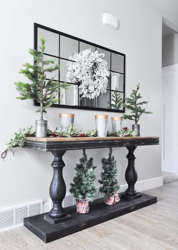 Создавайте шикарные подставки и этажерки - своими руками, из деревянных балясин или фигурных ножек для стола! Идеи декора!