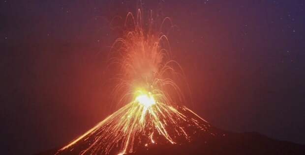 Последнее извержение вулкана на Марсе произошло 50 тысяч лет назад и может повториться