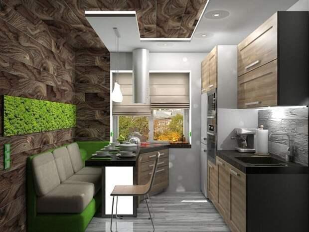 Кухня 11 кв. м: дизайн, фото, варианты функциональной обстановки (72 фото)