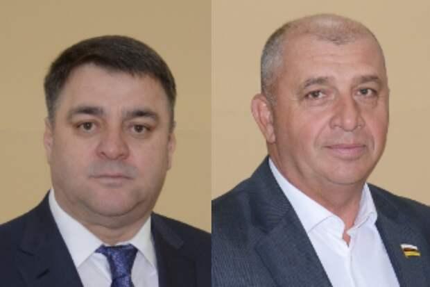 Сосланбек Битаров и Габуев Руслан. Фото: Парламент республики