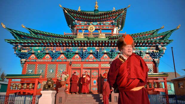 Главные буддистские места России