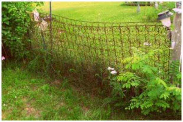 Да что там калитку - целый забор! Фабрика идей, дизайн, красота, кровати, мастерство, спинки