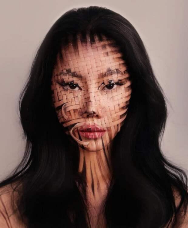 13 невозможных фото 3D-макияжа от художницы-визажиста Дейн Юн