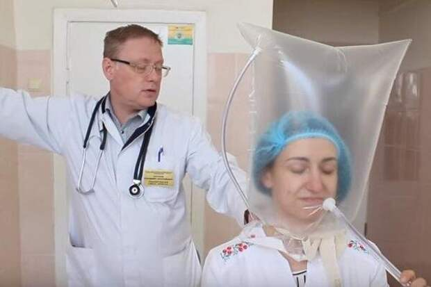 На Украине вспомнили,  чем  можно заменить дефицитные аппараты ИВЛ