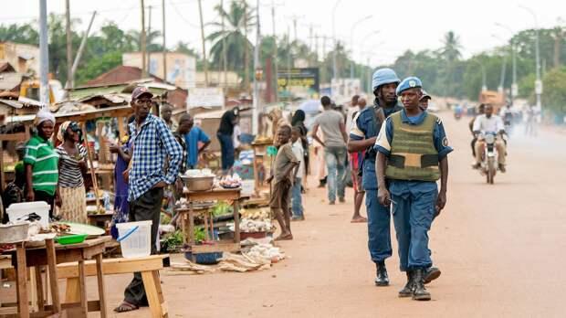 ООН сообщила о снижении числа нападений на конвои миссии в ЦАР