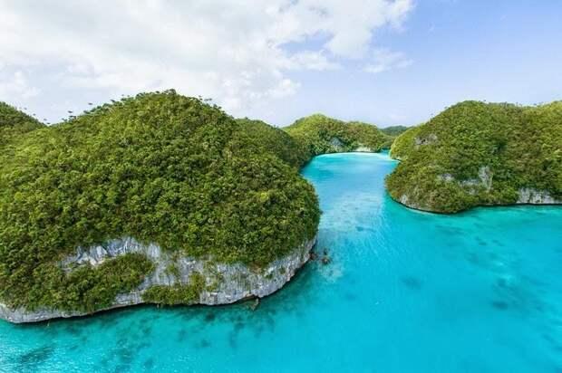 Скалистые острова Палау
