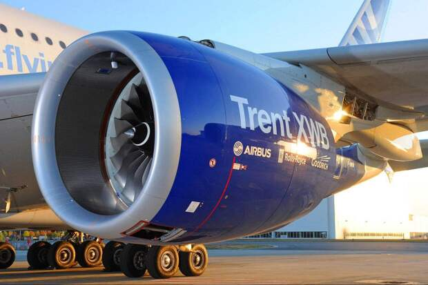 Rolls-Royce обнаружил трещины в лопатках двигателя для Airbus A350