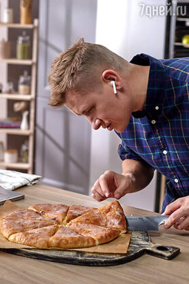 Осетинский пирог с картошкой и сыром: рецепт от Александра Бельковича