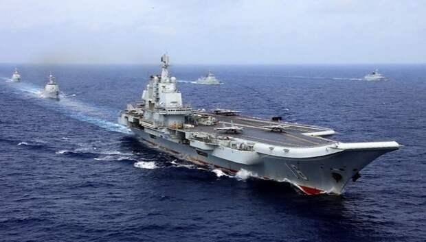 ВМФ Китая претендует на звание второго флота в мире