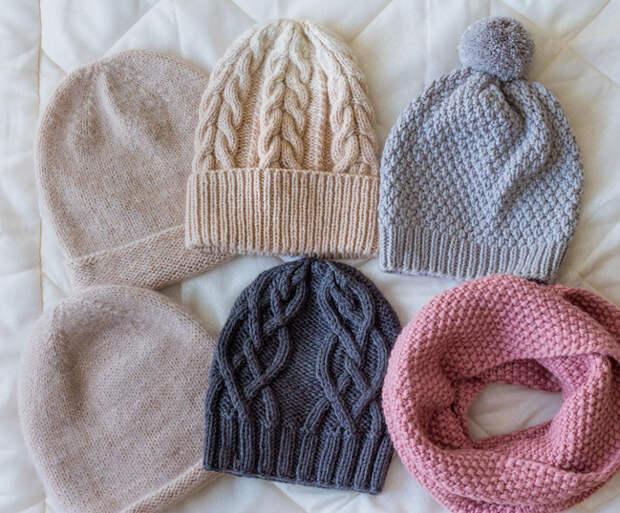 Двойные шапки для женщин