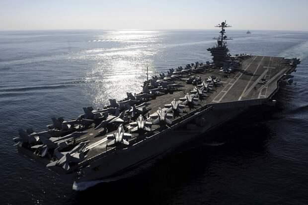 Секретное оружие Тегерана отправит на дно авианосцы США Персидском заливе