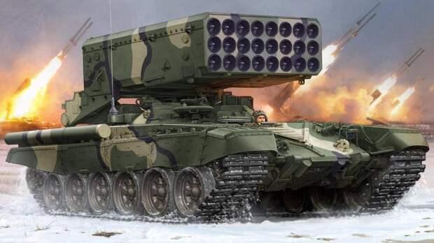National Interest: У США нет оружия равного ТОС-1 Буратино
