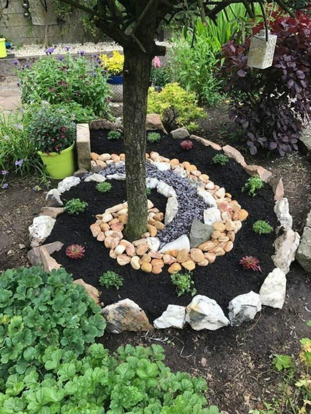 Камни в качестве декора. | Фото: Klumba.guru.