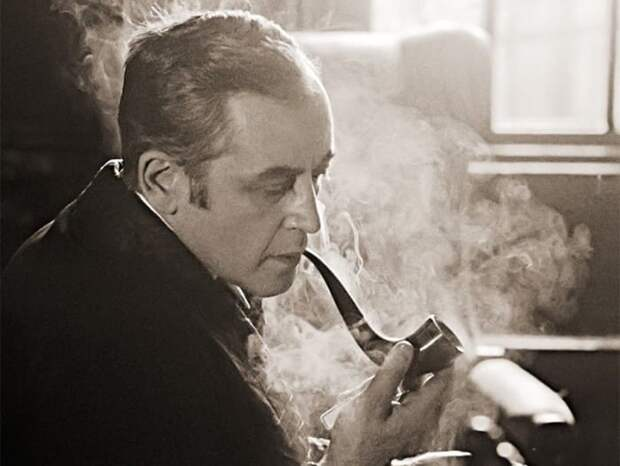 Василий Ливанов на съемках фильма. Фото Д. Донского   Фото: dubikvit.livejournal.com