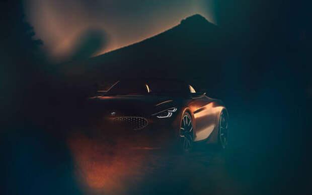 BMW приоткрыла завесу тайны над новым родстером Z4