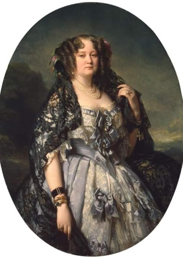 Фаворитка Царя Николая из-за которой стрелялся Пушкин: Какой была «царица московских красавиц» княжна Урусова