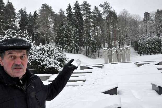 Литовский офицер продал квартиру, чтобы восстановить памятники советским солдатам