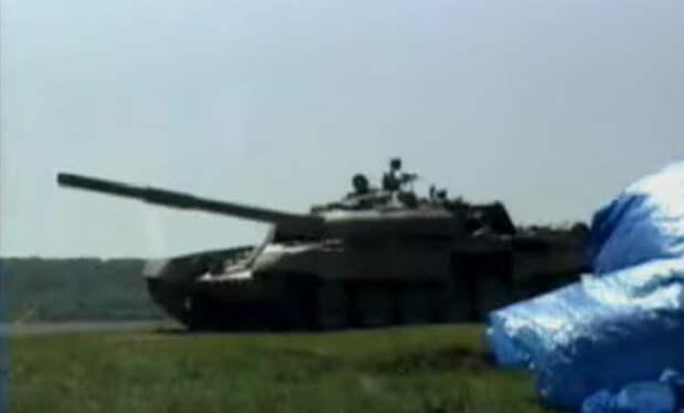 Джавелин против Т-72