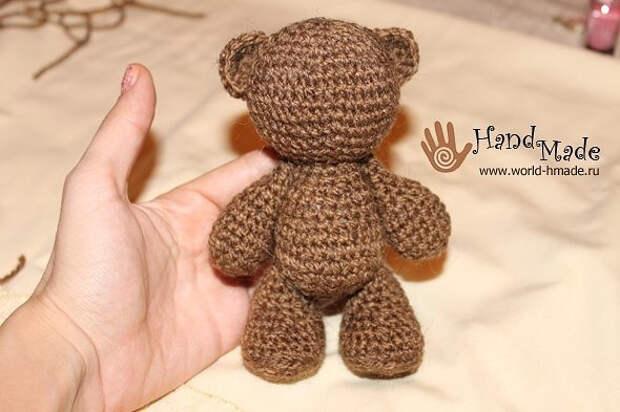 Амигуруми. Вяжем очаровательного медвежонка крючком!