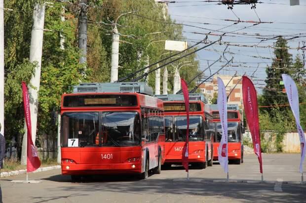 В Ижевске обновленные московские троллейбусы перевезли первых пассажиров