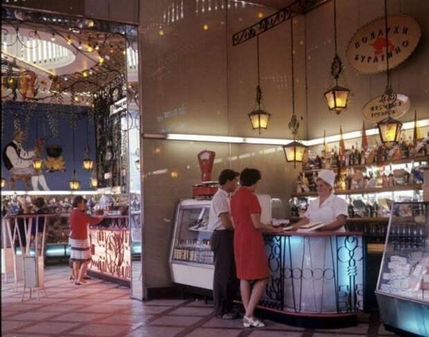 Удивительная фото-история одесского магазина сладостей «Золотой ключик»