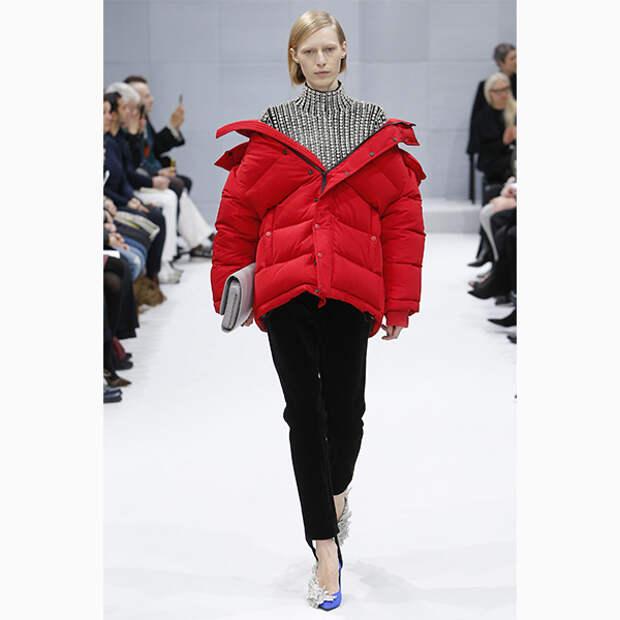 Balenciaga осень зима 2016 2017 Что носить осенью? 5 самых актуальных оттенков