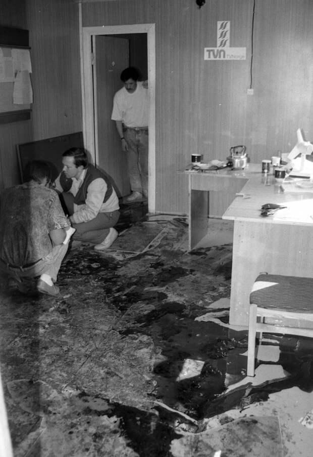 Расстрел в Мядининкай, 31 июля 1991 года.