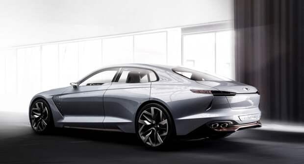 Genesis New York Concept: спорт-седан с гибридной силовой установкой
