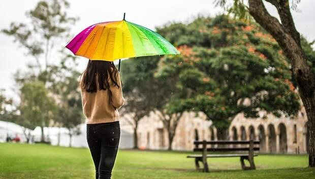 Теплая погода с кратковременными дождями ожидается в Подольске в среду