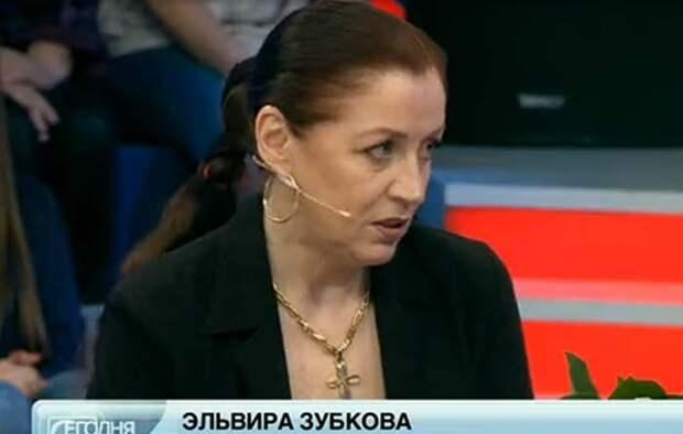 Эльвира Зубкова. Та самая Пилар из «ТАСС уполномочен заявить...».