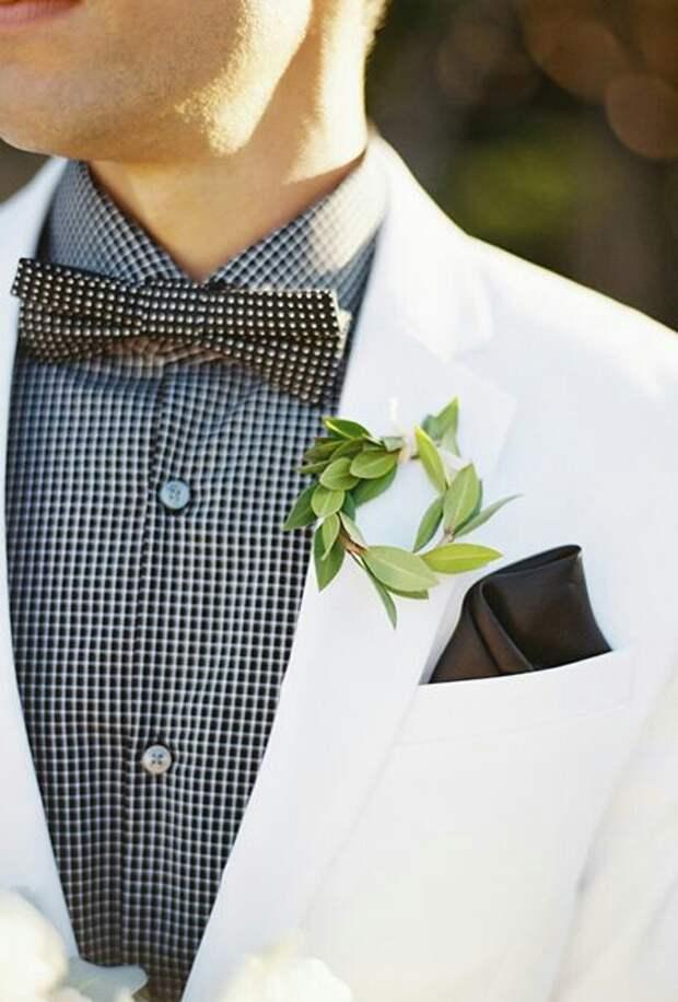 Цветы для жениха