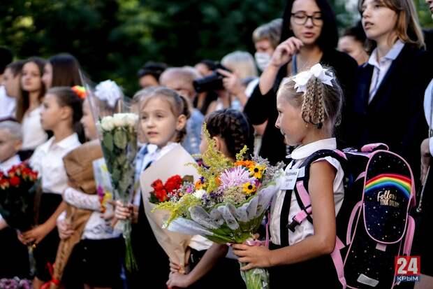В крымские школы на «последний звонок» пустят лишь выпускников и родителей