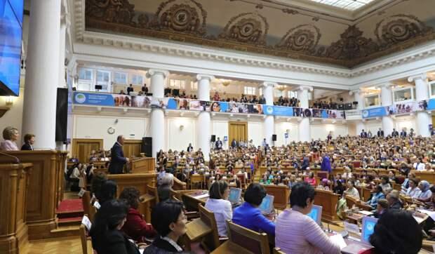 """Участницы образовательной программы """"Женщина-лидер"""" презентовали проекты в рамках подготовки к Евразийскому женскому форуму"""