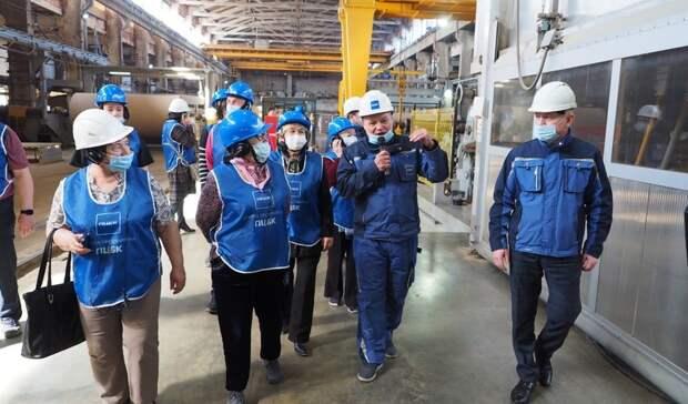 Жители Перми познакомились сцифровым производством иэкологическими проектами ПЦБК