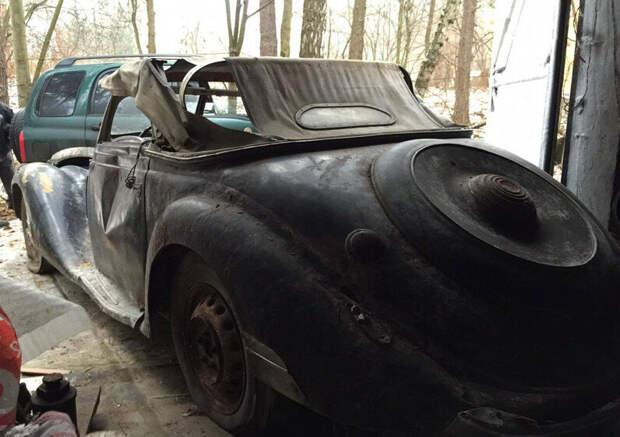 Странная находка,в одном из Тульских гаражей ! Найденная спустя 50 лет. Такого вы ещё не видели...