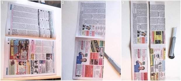 Плетем очаровательную шкатулку из газетных трубочек. Мастер-класс